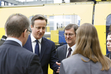 Prime Minister Praises Manufacturing Technology Centre's Work With Apprentices